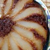 Peach or Pear Upside-Down Ginger Cake