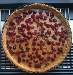 Holiday Brown Sugar Cranberry Tart