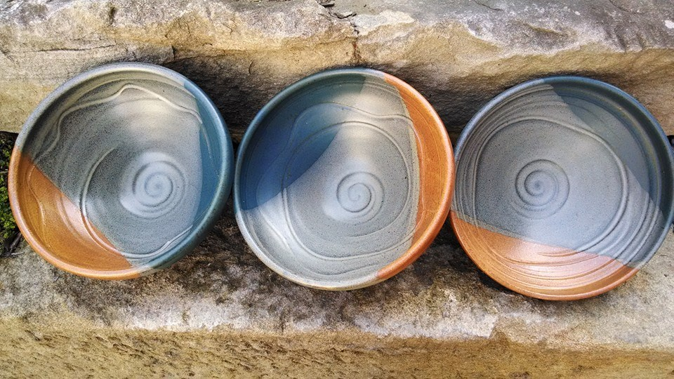 functional handmade pottery by Patti Goldstein
