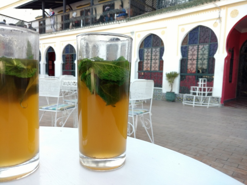 The ubiquitous mint tea