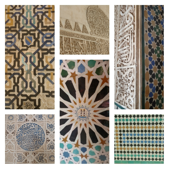 """""""The Alhambra is an open book. Its story is written on the walls."""" (From our tour guide.)"""